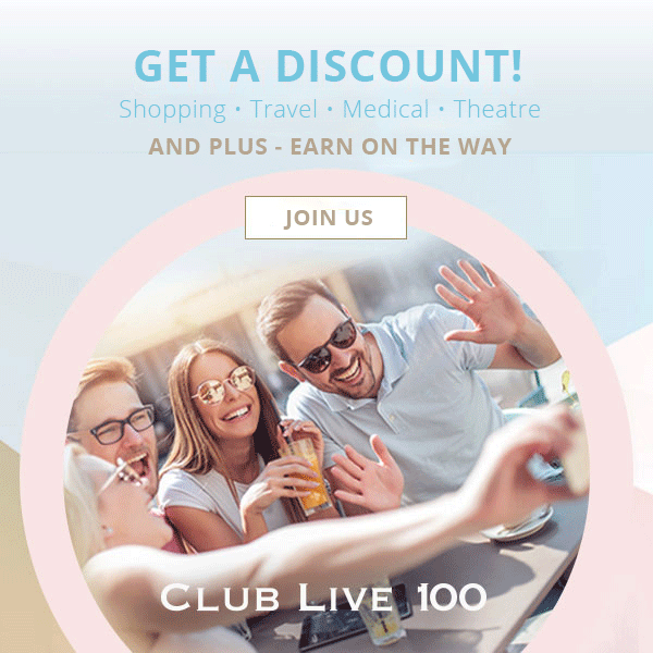 Club Live 100 Banner Image